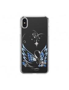 Silver och väldigt snyggt skydd till iPhone XS / X.