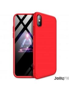 Rött och väldigt snyggt skydd till iPhone XR.