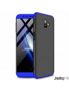 Svartblå och väldigt snyggt skydd till Samsung Galaxy J6 Plus 2018 J610.