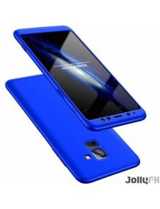 Blå och väldigt snyggt skydd till Samsung Galaxy A8 2018 A530.