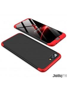 Svart-rött och väldigt snyggt fodral för Huawei Honor 10.