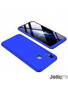 Blått och väldigt snyggt fodral för Huawei Honor Play.