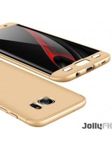Gyllene och väldigt snygga fodral till Samsung Galaxy S7 Edge G935.