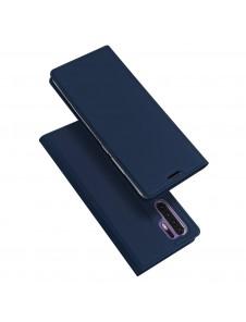 Blå och väldigt snyggt skydd för Huawei P30 Pro.