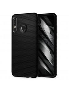 Svart och väldigt snyggt skydd för Huawei P30 Lite.