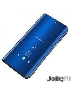 Blå och väldigt snyggt skydd för Huawei P30 Lite.