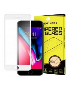 Vitt och väldigt elegant glas för Apple iPhone 8/7.
