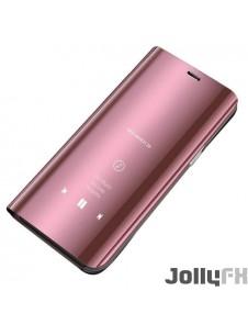 Rosa och väldigt snyggt skydd Samsung Galaxy S10.