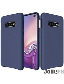 Mörkblå och väldigt snyggt skydd Samsung Galaxy S10e.