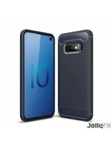 Blå och väldigt snyggt skydd Samsung Galaxy S10e.