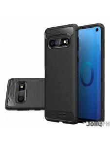 Svart och väldigt snyggt skydd Samsung Galaxy S10.