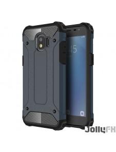 Blå och väldigt snyggt skydd Samsung Galaxy J2 Pro J210.