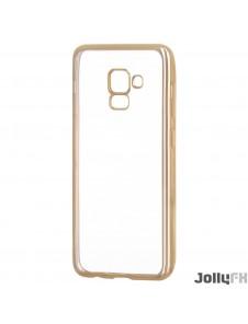 Guld och väldigt snyggt skydd Samsung Galaxy A8 2018 A530.