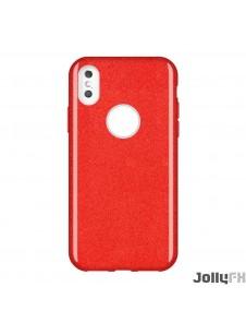 Rött och väldigt snyggt skydd till Samsung Galaxy S10e.