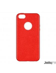 Rött och väldigt snyggt skydd för iPhone SE / 5S / 5.