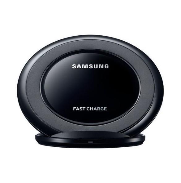 Samsung EP NG930BBE Qi Trådlös Laddare till Samsung S6 Edge Plus, S7 Edge, S8 Edge Svart