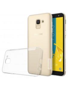 Genomskinligt och väldigt snyggt skydd till Samsung Galaxy J6 J600 2018.