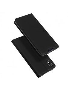Svart och väldigt elegant lock till Samsung Galaxy A10.