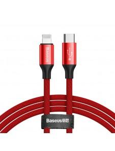 Långt laddande USB-C / blixtkabel.