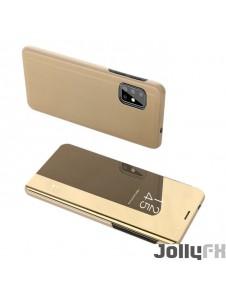 Gyllene och väldigt snygga omslag Samsung Galaxy S20.