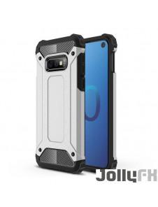 Silver och väldigt snyggt skydd till Samsung Galaxy S10e.