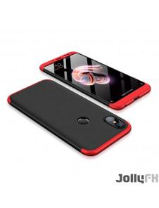 Svart-rött och väldigt snyggt skydd för Xiaomi Redmi Note 5 (dual camera) / Redmi Note 5 Pro.